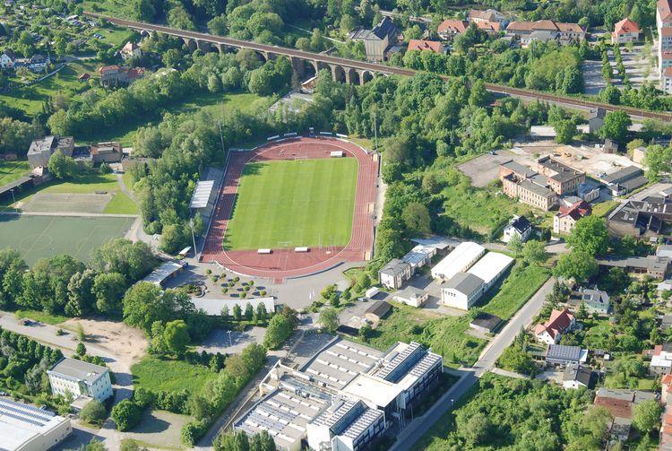 Luftaufnahme Stadion Müllerwiese